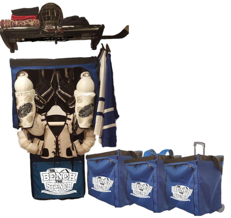Charmant The Most Innovative Sports Equipment Bag Available   Carry Your Hockey  Equipment To And From Your Game And Hang The Equipment To Dry Without Ever  Having To ...